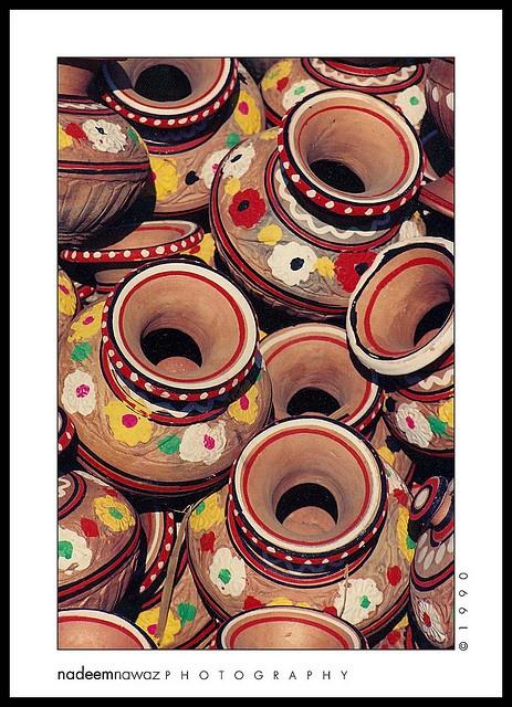 Pots (matkay), Karachi Pakistan by nadPRINCE , via Flickr
