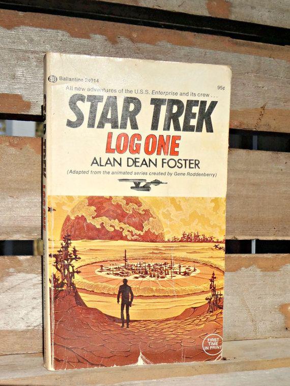 1974 Star Trek Log One  Alan Dean Foster Special by JRamseyBooks, $8.00