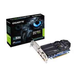 Carte graphique Gigabyte GV-N75TOC-2GL - GeForce GTX 750 Ti 2 Go 2048 Mo DVI/Dual HDMI/DisplayPort - PCI Express (NVIDIA GeForce avec CUDA GTX 750 Ti)