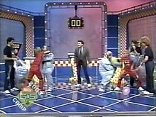 Always wanted to compete on Double dare, really wanted to look for the flag in the pizza...