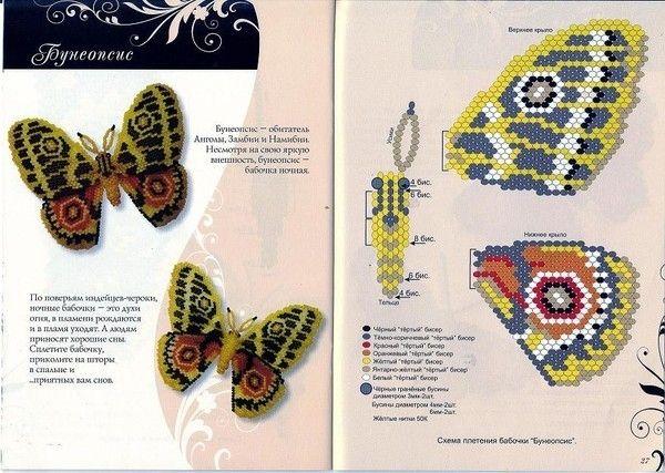 Beaded Butterfly pattern