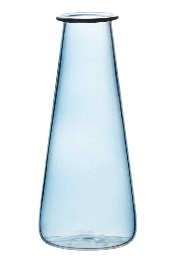 Szklany wazon H&M