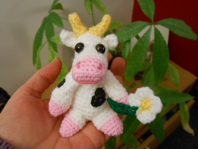 20 Best Crochet Cows Images On Pinterest Crochet Cow Crochet