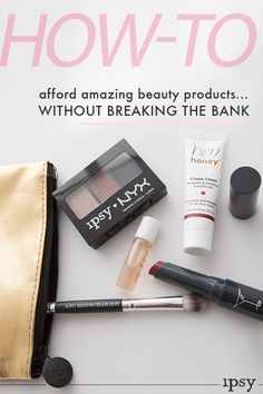 Monthly Beauty Subscription -- If you're looking to try new makeup, try ipsy! You get 4-5 personalized beauty products each month. Delivered to your door. Watch Makeup Tutorials - Product Giveaways - Win Free Products - Save up to 70% off on latest products - Join over 1MM+ subscribers. Subscribe now!