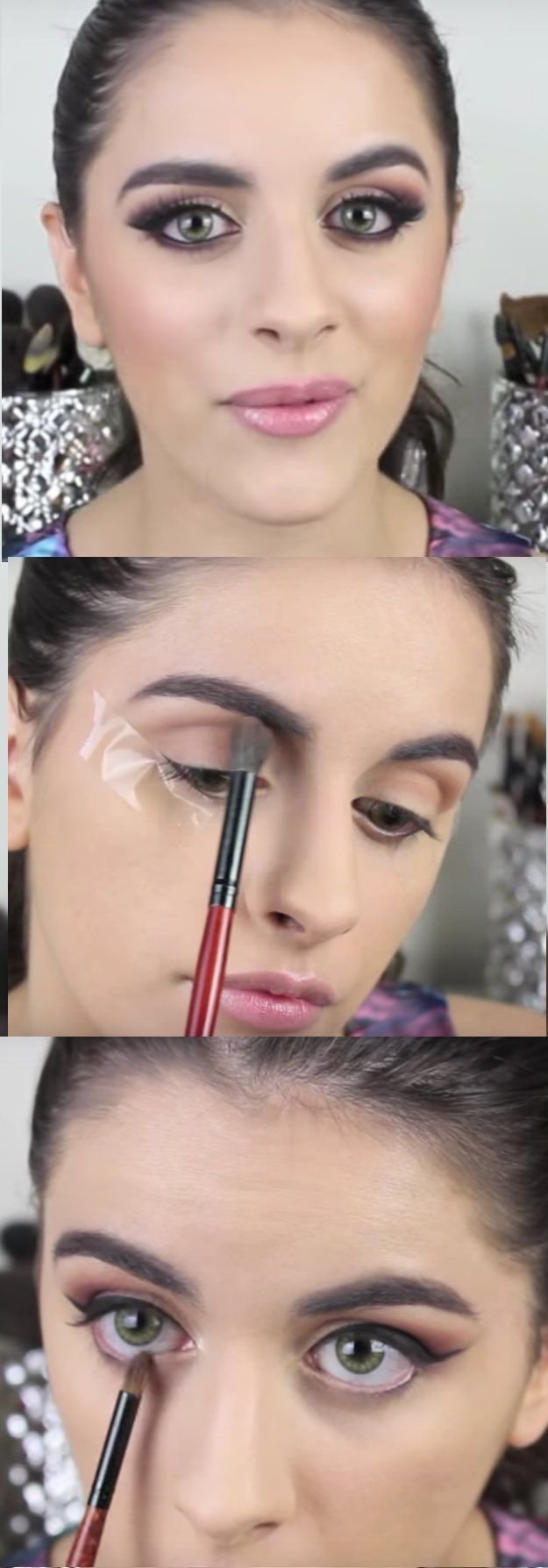 34 Makeup Tutorials For Small Eyes The Goddess - 625×1788