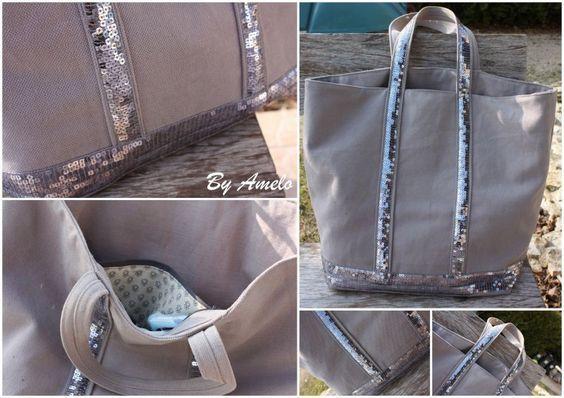 Tuto pour un sac à paillettes façon Vanessa Bruno (ou comment économiser plus de 100€... cool non?)
