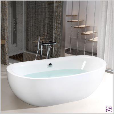 32 besten Badewannen Bilder auf Pinterest Badewannen - freistehende badewanne raffinierten look