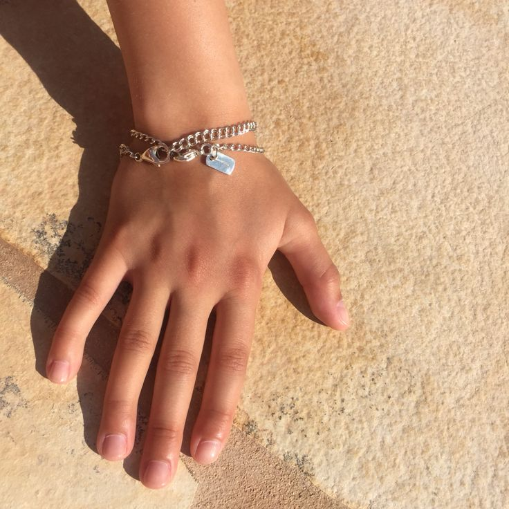 Small Silver Bracelets...perfect poolside accessory by MMzS Jewellery Design