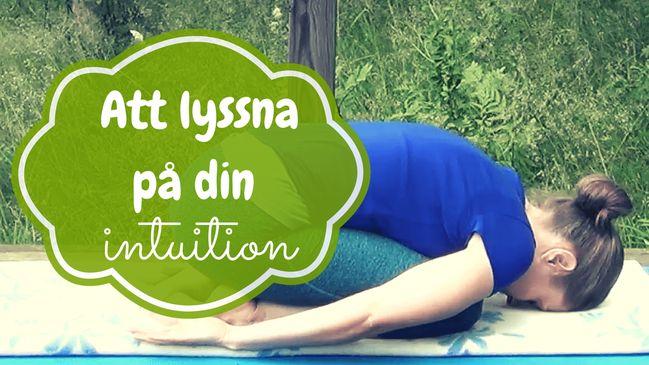 Vad är intuition? Och hur vet man att det är intuitionen som visar vägen?    #mediyoga #medicinskyoga #kundaliniyoga #yoga #meditation #avslappning #intuition