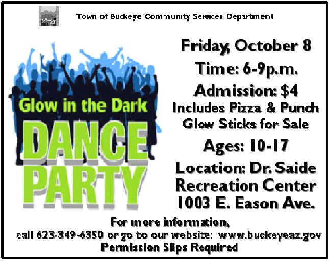 glow in the dark dance party---mother/son event?