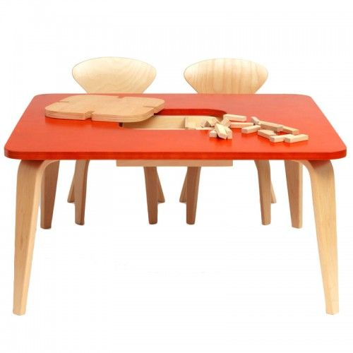 Cherner Children's Table with Storage Box