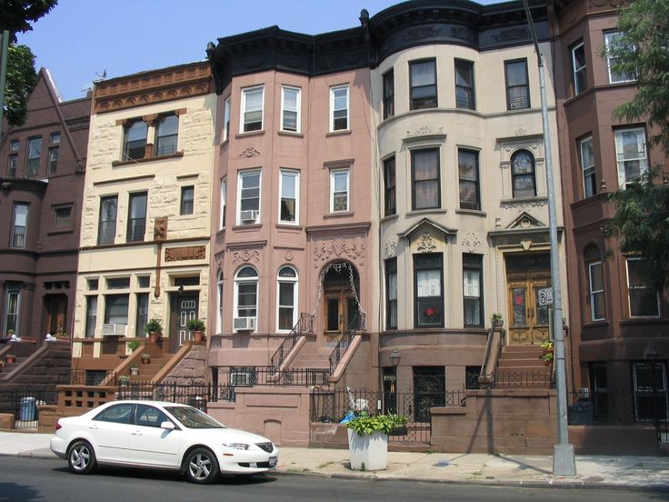 New York City Boroughs ~ Brooklyn | Brownstines, Bedford-Stuyvesant