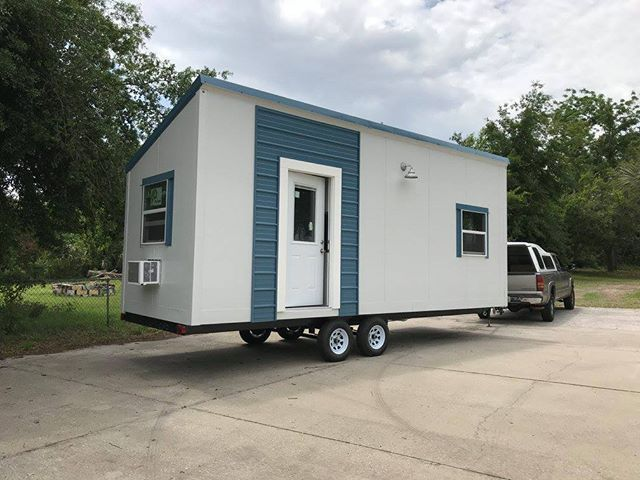 This Tiny House Takes Just 40 Hours For Two Pros To Build