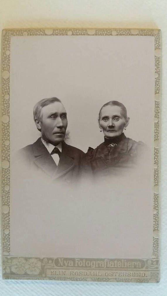 Guarda questo articolo nel mio negozio Etsy https://www.etsy.com/it/listing/541523253/swedish-old-couple-in-a-romantic-vintage