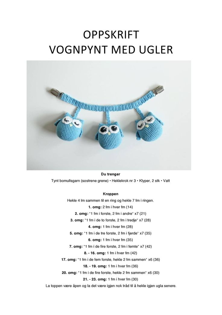 View and download Vognpynt med ugler.pdf on DocDroid