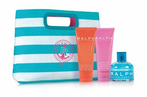 Ralph 3.4oz EDT, 3.4oz Body Lotion, 3.4oz Shower Gel, Clutch by Ralph Lauren. $95.81. 4pc Set: 3.4oz EDT, 3.4oz Body Lotion, 3.4oz Shower Gel, Clutch Bag. Gift Set includes: a 3.4 oz Eau De Toilette Spray, a 3.4 oz Goodbye Dry Hydrating Body Lotion with Shimmer, a 3.4 oz You've Got Gel Bath & Shower Gel and a Ralph Clutch. Ralph by Ralph Lauren is a Floral Fruity fragrance for women. Ralph was launched in 2000. Top notes are japanese osmanthus, apple leaf and it...
