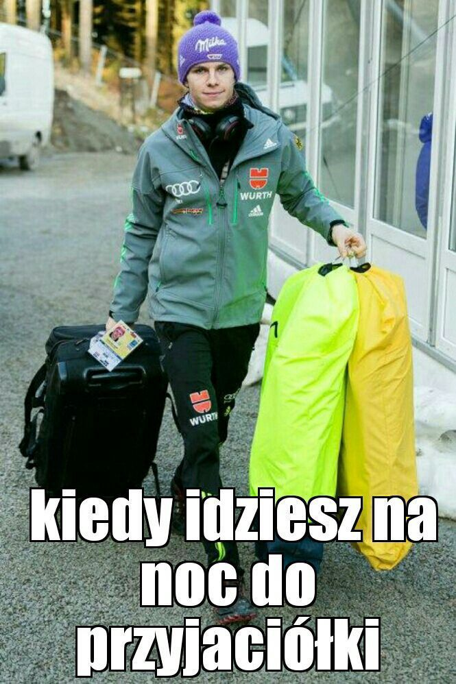 Zbiór zabawnych memów i cytatów skoczków z całego świata. Serdecznie … #losowo # Losowo # amreading # books # wattpad