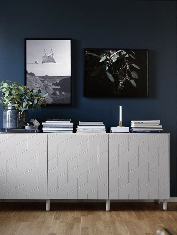 Scandinavian Interior Design and Home Decor. Texture on these wall cabinets, gorgeous!