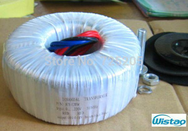 120 W de ALTA FIDELIDADE Amplificador Dedicado Fio Transformador Toroidal Dupla 18 V ou Dual 22 V de Áudio para o seu DIY
