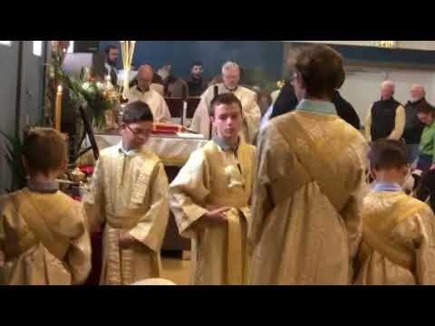 Bishop Athanasius Akunda Of Kenya Palm Sunday Liturgy