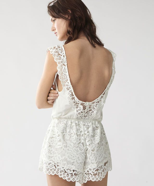 Floral jumpsuit - New In - NIGHTWEAR   Oysho Ukraine