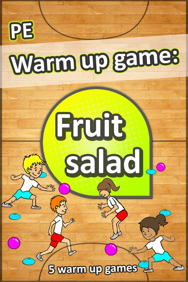 5 super fun and easy to setup warm up games for PE – Great for grades K-6. Watch…