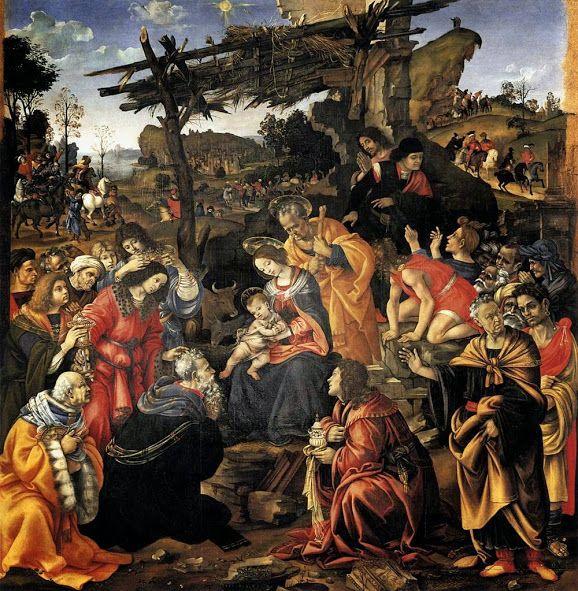Adorazione dei Magi (1496; Firenze, Uffizi)