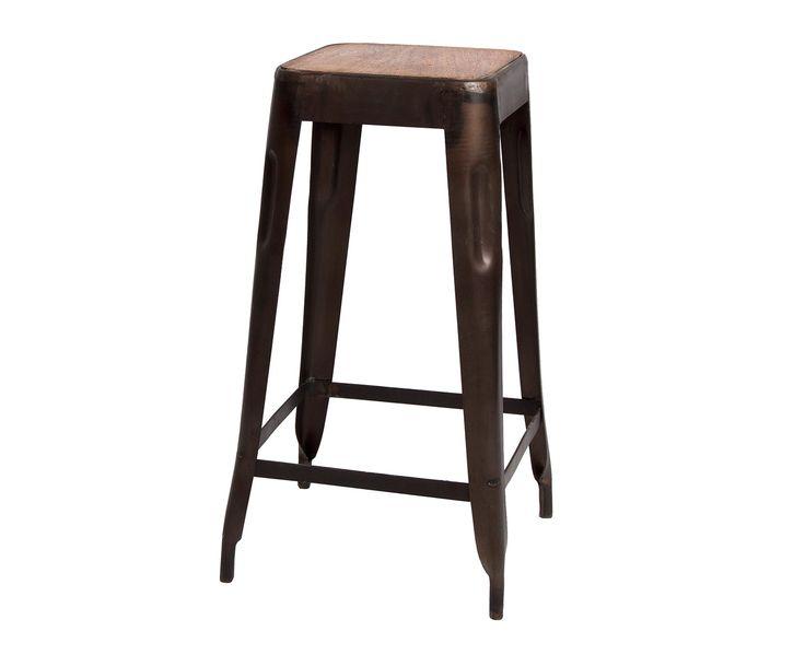 Kruk Everard, bruin, H 70 cm | Westwing Home & Living