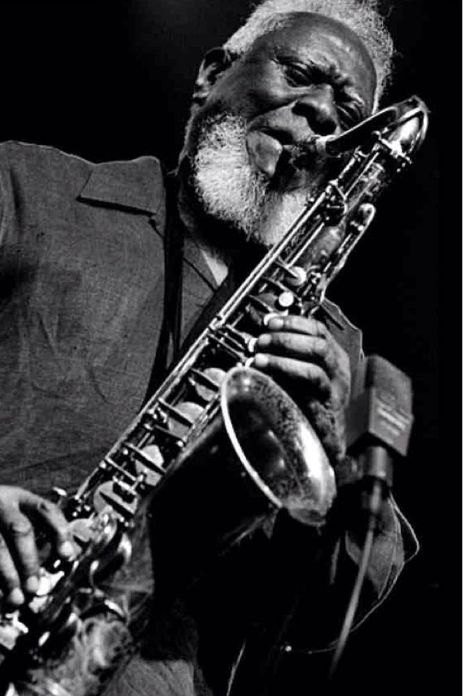 Pharoah Sanders 92 Photo by Hans Speekenbrink