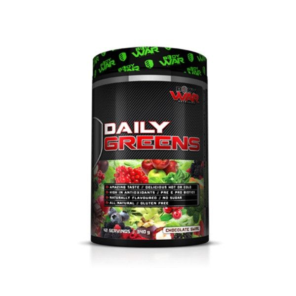 Body War Daily Greens - Second To None Nutrition