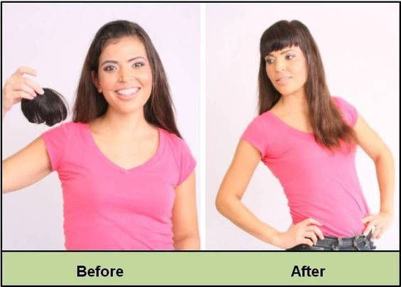 34 best do it yourself hair extensions images on pinterest hair winterspring hair bang trends without cutting your hair solutioingenieria Images