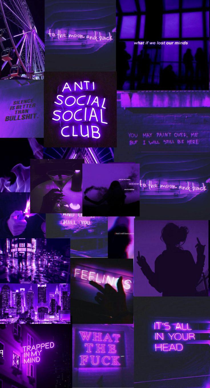 purple wallpaper aesthetic in 2020 black aesthetic
