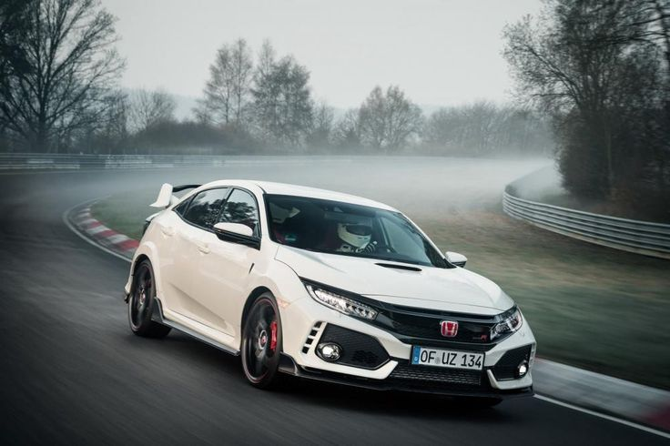 Honda Civic Type R bá đạo tại Nurburgring