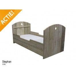 Ledikant Stephan 90X200Cm Steigerhout - Bestel Online