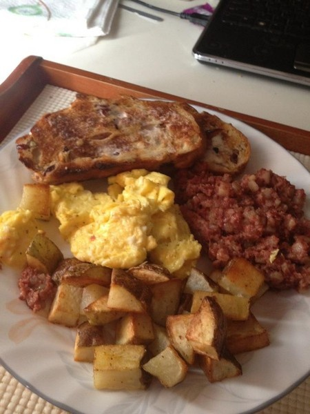Homemade Corned Beef Hash! | My Examiner Articles! | Pinterest