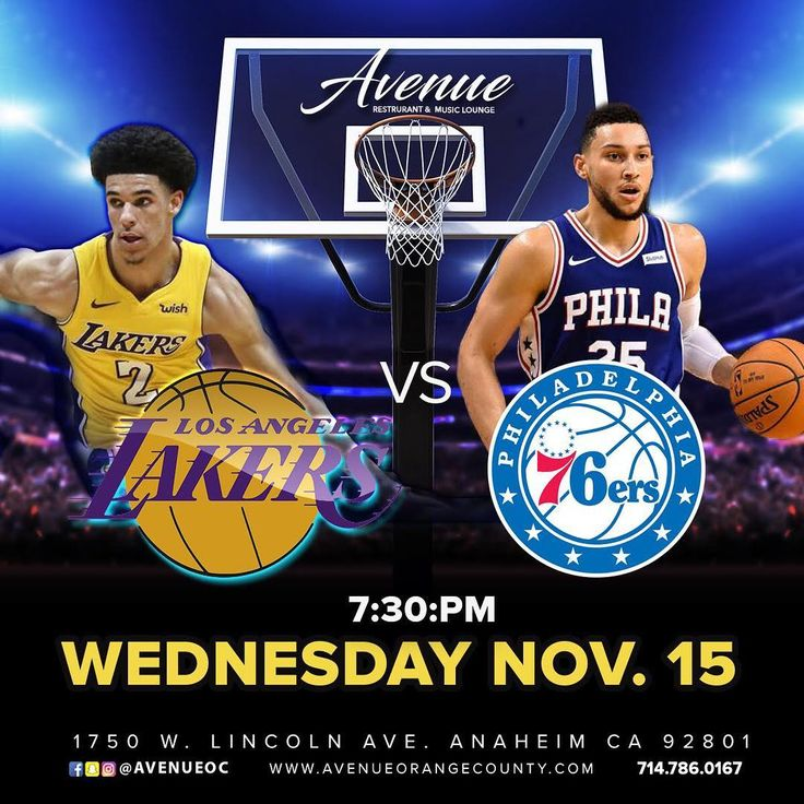 Tomorrow  Some Of The Hottest Rookies Battle It Out Lakers vs Sixers 7:30pm Join Us For Happy Hour @avenueoc $3 Drink Specials @avenueocrestaurant  #avenueoc #anaheim #restaurant #musiclounge #bar #lounge #sports #games #nba #basketball #bball #dunk #hoops #wednesday #humpday #losangeles #philadelphia #lakers #sixers #rookies #specials #food #drinks #appetizers #bigballerbrand #oc #orangecounty