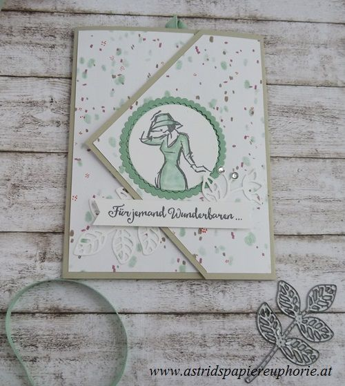 Fancy Folds blog hop –  Peek A Boo Flap Card | Astrids Papiereuphorie