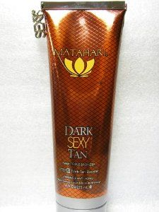 Matahari Dark Sexy Legs 8 Oz Tanning Bed Lotion by Matahari Dark Sexy legs. $19.00. New 08 Matahari Dark Sexy Legs 8 oz Tanning Lotion. Free Carrying Pouch. Brand New 2008 Matahari Dark Sexy Legs 8oz Bottle Regular/Bronzer/Legs Treatment Lotion/Specialty  2008 New Product Formula designed for legs Added DHA-based Bronzers for advanced tanning and long-lasting results Firming and hair minimizing formula