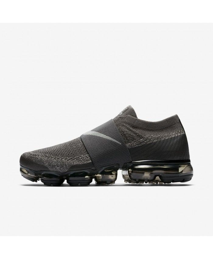 c7c48acca3dfd Nike Air VaporMax Flyknit Moc Midnight Fog Legion Green Black Dark Stucco  AH3397-013