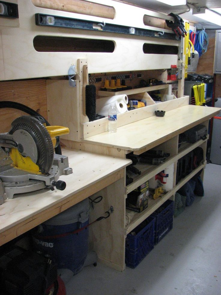 8 best work trailer ideas images on pinterest trailer for Rv workshop
