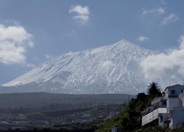 El Teide Nevada 2016 - Tenerife.