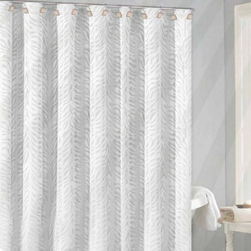 FREE SHIPPING AVAILABLE! Buy Duck River Marty Zebra Jacquarduard Fabric ShowerCurtain at JCPenney.com today and enjoy great savings. Available Online Only!