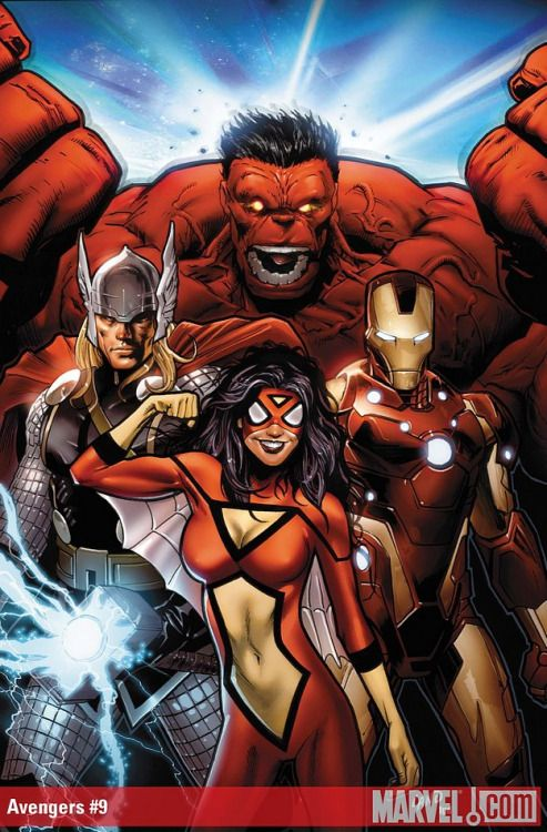 Greg Land - Avengers