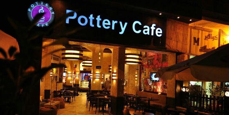 B L A C K M U G O W N E R Cairo Egypt Pottery Cafe Pottery Cafe Broadway Shows Cafe