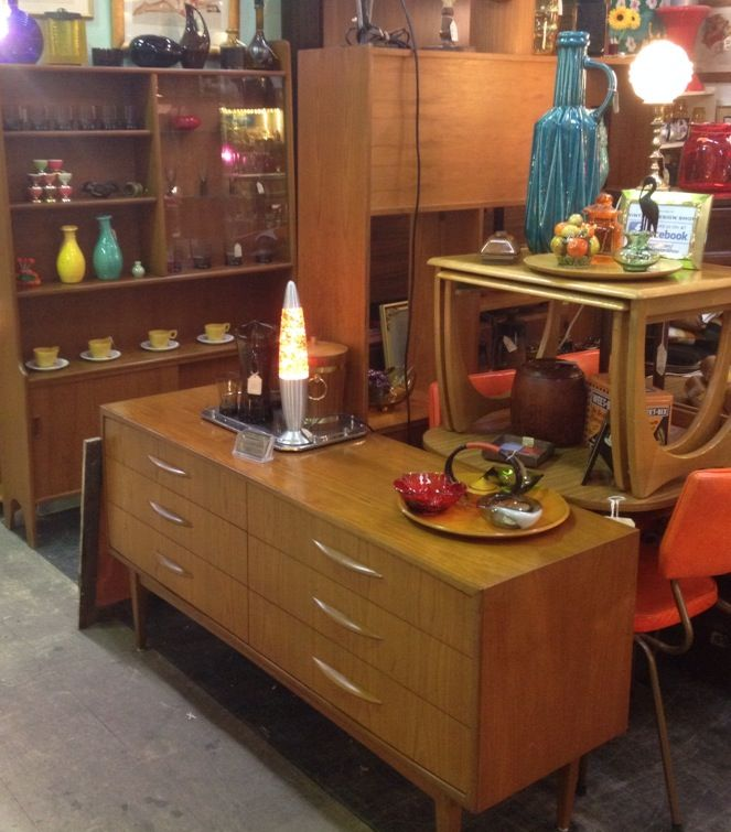 Mid-century modern furniture in Vintage Design Shop, Melbourne. http://www.facebook.com/VintageDesignShop