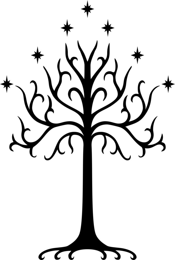 White Tree of Gondor Symbol by DrDraze.deviantart.com on @DeviantArt