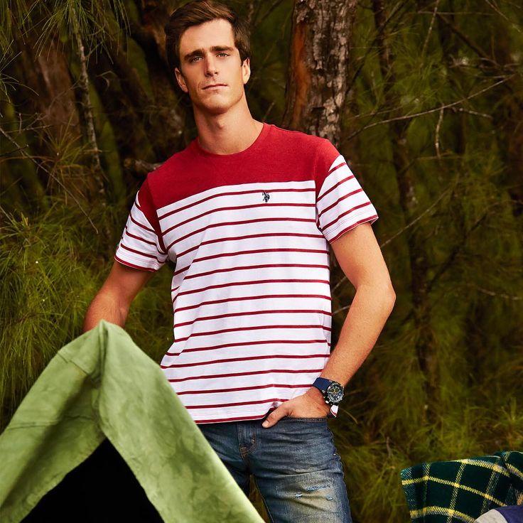 Get the look: Men's Polo T Shirts - http://www.uspoloassn.com/categories/boys/shirts Men's Jeans - http://www.uspoloassn.com/categories/men-clothing/jeans
