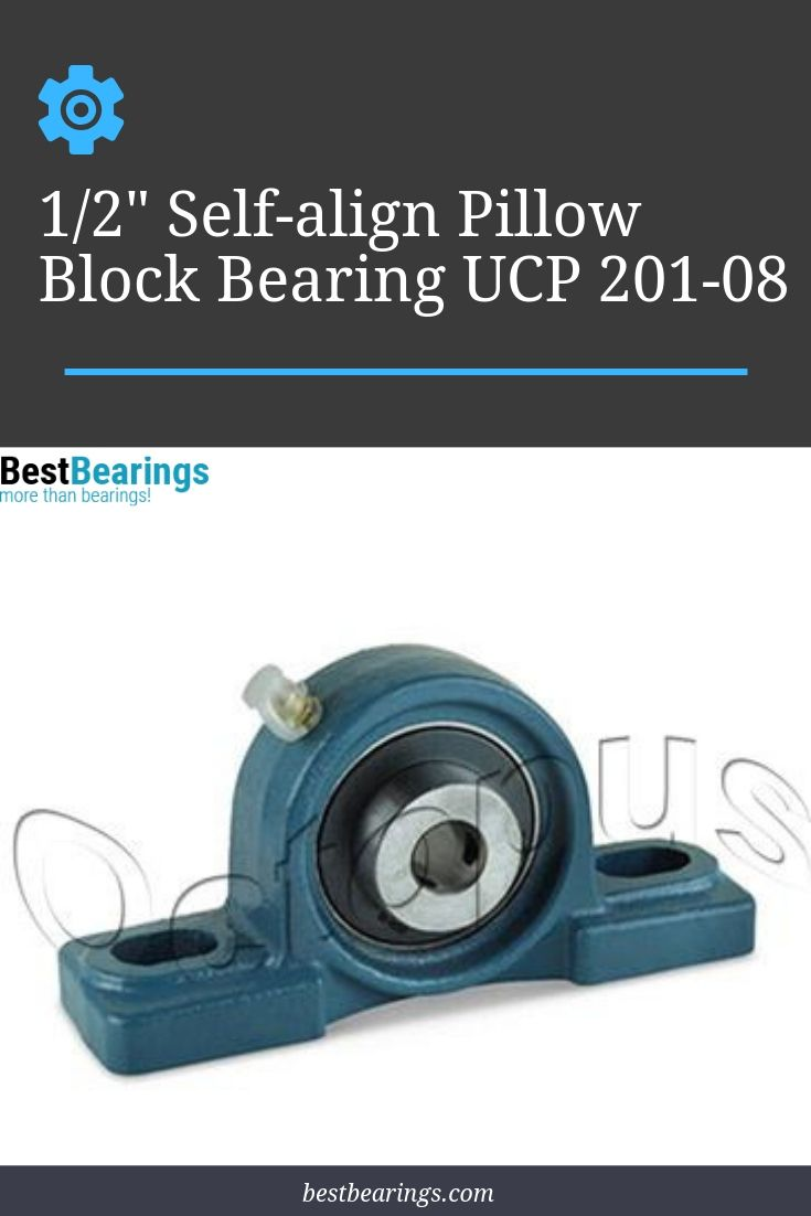 This Is A New 1 2 Inch Pillow Block Bearing Ucp 201 08 Bearing Material Chromium Steel Gcr15 Housing Material Cast Iron Moun Pillows Bear It Cast