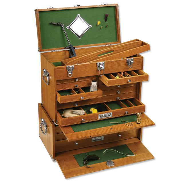 Fly Tying Material Storage Cabinet