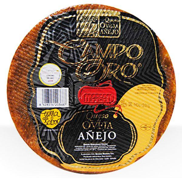 Medalla Bronce 2012 AWC. Es un queso Puro de Oveja  añejo que por su proceso de curación ofrece un sabor y aroma intensos a la vez que una textura muy agradable al paladar